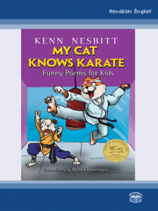 Book image - my cat knows karate